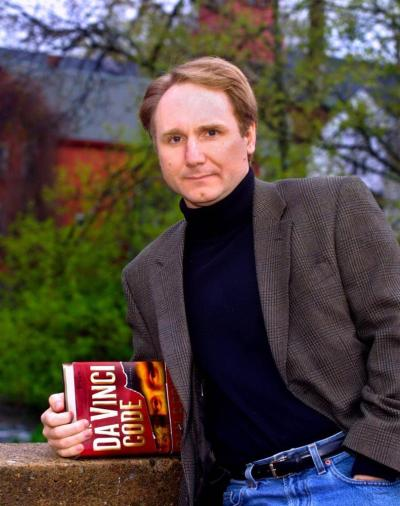 "libraryjournal:  willywaldo:  millionsmillions:         ""Renowned author Dan Brown got out of his luxurious four-poster bed in his expensive $10 million house and paced the bedroom, using the feet located at the ends of his two legs to propel him forwards.""           My reviewer loved The Da Vinci Code but I could not get past the first chapter. This brilliant parody of Brown's clunky prose style shows why.      The critics said his writing was clumsy, ungrammatical, repetitive and repetitive. They said it was full of unnecessary tautology. They said his prose was swamped in a sea of mixed metaphors. For some reason they found something funny in sentences such as ""His eyes went white, like a shark about to attack."" They even say my books are packed with banal and superfluous description, thought the 5ft 9in man. He particularly hated it when they said his imagery was nonsensical. It made his insect eyes flash like a rocket.          I laughed at loud at the last sentence. Hoo boy."
