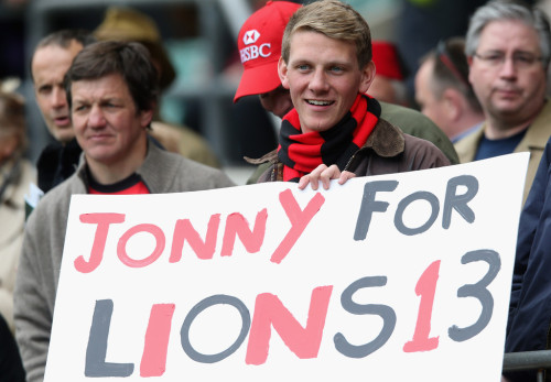 Cute Fan! He's Right! Wilko For Lions 13!!! Call Me Maybe, Baby!