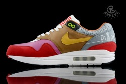 sneakerkingpin:  Another Nike Air Max 1 Follow&Reblog for more pics!
