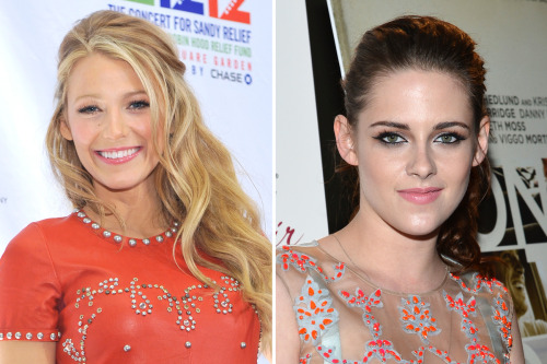 Beauty battle! Blake Lively and Kristen Stewart were both spotted sporting ballerina pink lipstick. Who wore it best? Vote here »