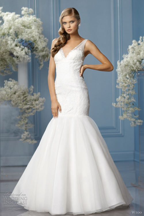 helloweddingdiary:  Wtoo Spring 2013 bridal collection