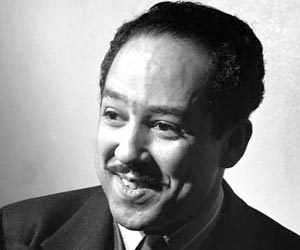 What do mustaches and poetry have in common…Langston Hughes!  Don't miss our last poetry-themed Mustache Monday in honor of National Poetry Month.  Check out Hughes' legacy as a poet and activist at NYPL today! (Photo: From Academy of American Poets.)
