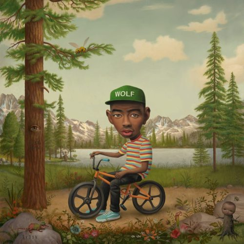 """Tyler the Creator - Wolf"" album cover. Limited Edition signed by Mark Ryden poster will be available April 2 at Porterhouse.com"
