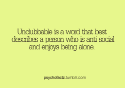 psychofactz:  More Facts on Psychofacts :)  definition of ME
