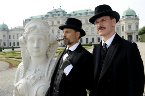 A Dangerous Method (#132) This was quite good! I'm really amazed that it didn't receive any Oscar nominations, particularly for Keira Knightley though really all three leads are terrific. The score is lovely and David Cronenberg's direction surprisingly subdued (I loved the heavy use of deep focus). Well written, brilliantly performed (though I do agree with others in noting that both Keira and Michael Fassbender have very jaw heavy characters - no sexual innuendo intended) and quite interesting.