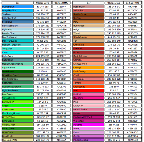 Html Color Code Www Pixshark Com Images Galleries With