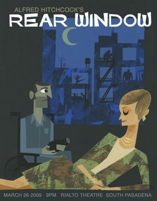 Rear Window by Amanda Visell