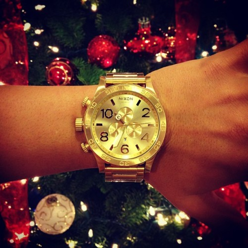 THANK YOU MOM & DAD FOR FEEDING MY #NIXON OBSESSION. FINALLY 😢