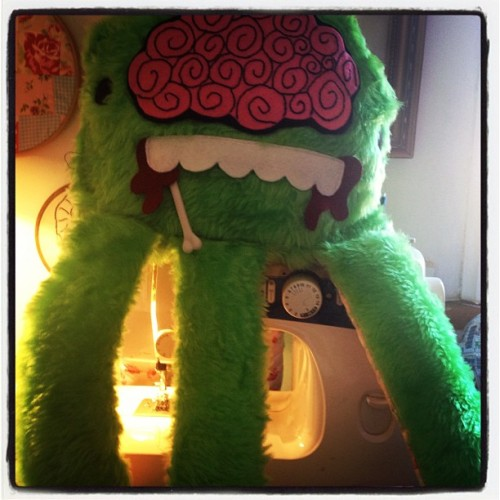 It's alive !!! #craft #monster #zombie #sewing