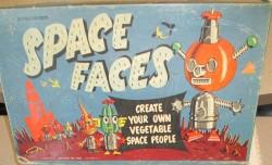 vintagetoyarchive:  PRESSMAN: 1953 Space Faces (Mr. Potato Head clone)
