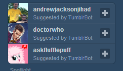no, no, no. come on tumblrbot