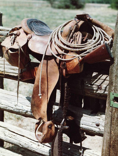 aheartfullofspirit:  COWBOY TACK by AZ CHAPS on Flickr.