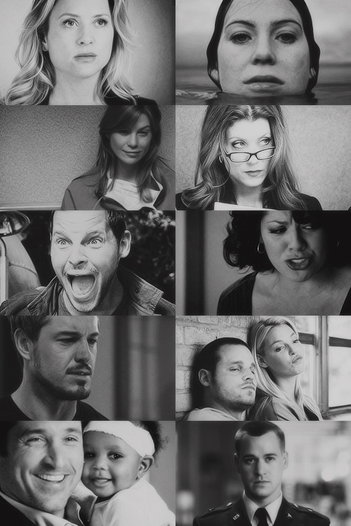 fangirl challenge - [4/10] tv shows↳ Grey's Anatomy