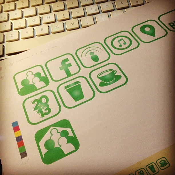 Good morning! - working on some icons #graphic #design #designer #grafiker #icon #icons #pictogram #corporatedesign #newsletter #illustrator #adobe #work #late #night #early #morning #mac #iconset #church #christian #worship (Gabriel Walther Media & Design)