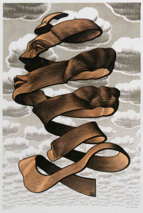 fastweapon:  likesyrup:  M. C. Escher  one of my favorite artists