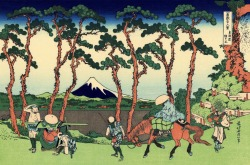 36/ of Thirty-six views of Mt. Fuji. Hokusai, 1830.
