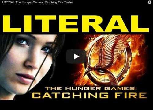 This Literal Catching Fire Trailer Will Literally Make You Think About The Film In A Very Literal Way