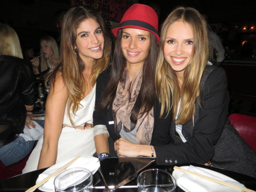 Eleni, Emily and Karina, the 1.1 clan at the General…