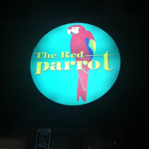 Playing the Red Parrot tonight in Hull, MA. It's nice here.  (at The Red Parrot)