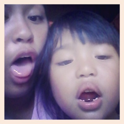 Blehhh!!! Aaaaaahhhhh! (at San Gabriel Village, Tuguegarao City)