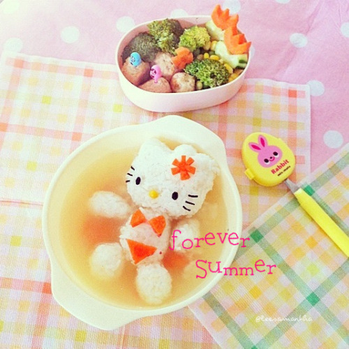dreamkashi:  Hello Kitty Forever Summer « eatzy bitzy on We Heart It - http://weheartit.com/entry/51157419/via/vkashi