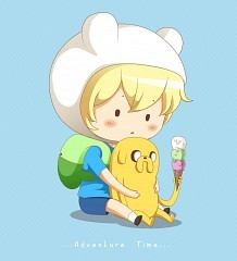 Finn and Jake chibi.