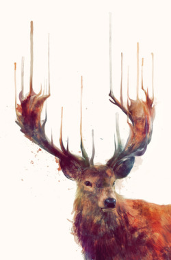 och-annie:  Majestic paintings by Amy Hamilton via:lacarpa