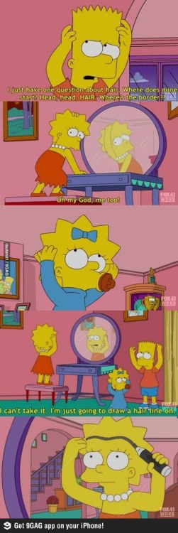 Not a Simpsons fan really, but this amused me. XD