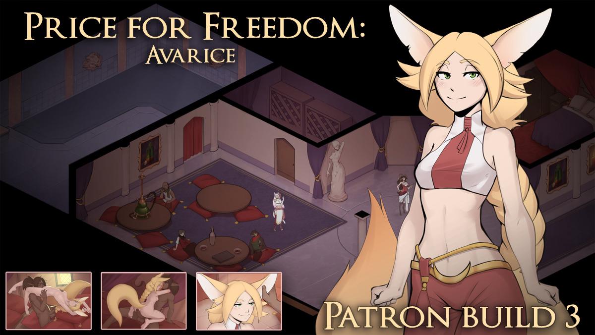 price for freedom avarice