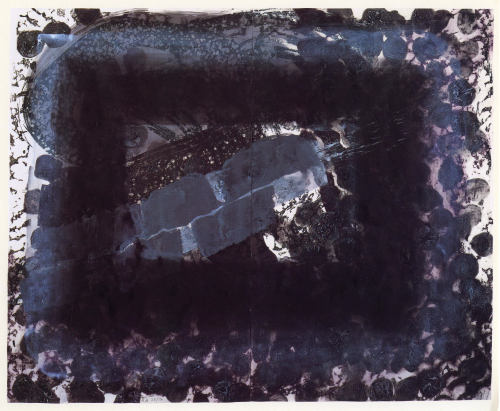 cavetocanvas:  Howard Hodgkin, Venice, Night, 1995