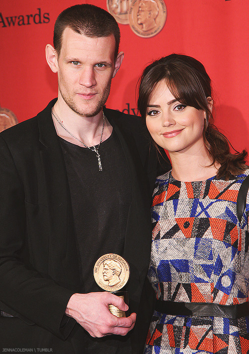 jennacoleman:  Jenna and Matt at the 72nd Annual George Foster Peabody Awards, NYC 20 May 2013