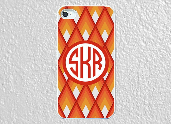 Monogram iphone 5 case plastic diamond angel by worthymonogram on We Heart It - http://weheartit.com/entry/52958414/via/WorthyCases