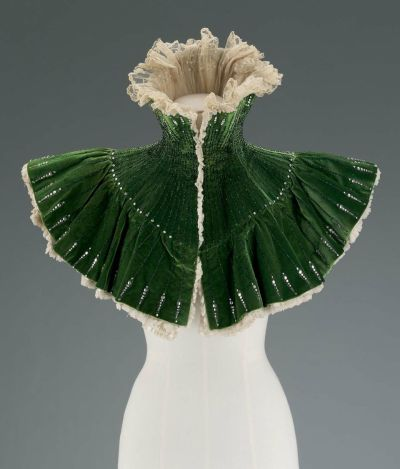French evening cape | MFA Boston | c. 1900