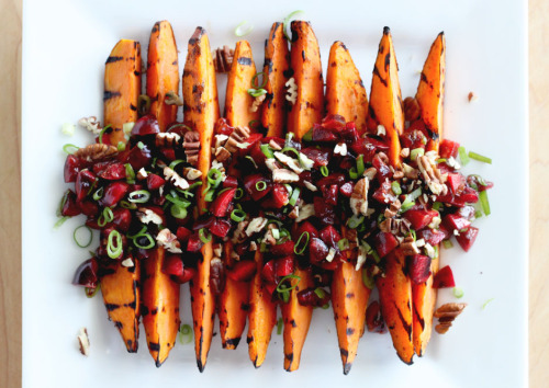 emigetsfit:  grilled sweet potatoes