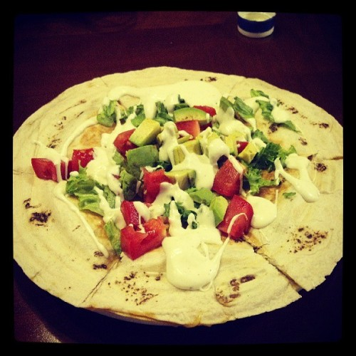 Chicken chipotle #Chingon #Quesadilla made by my lovely @nora_5o5 #NorasKitchen #FatKidCode #TeamPiggy #FoodPorn #Foodgasm #FoodComa