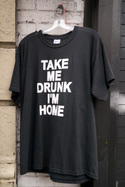 terrysdiary:  Take Me Drunk I'm Home