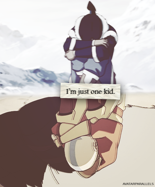 avatarparallels:    I'm just one kid.    Inspired by [x]