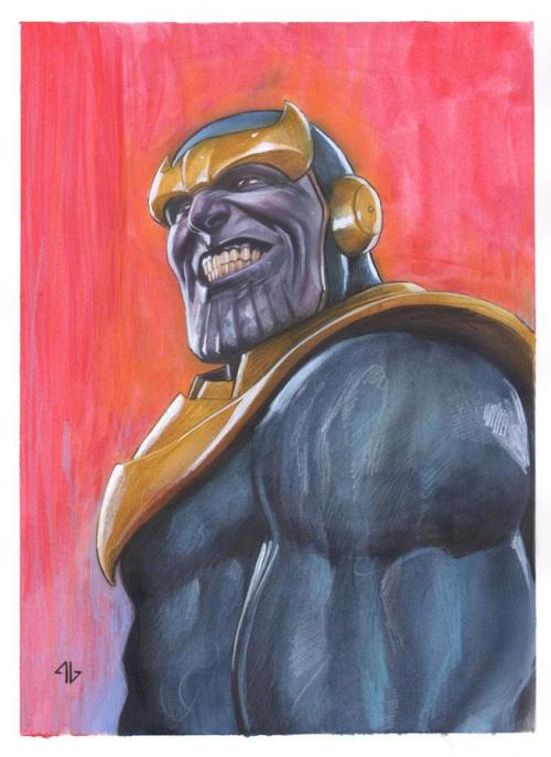 all-about-villains:  Thanos : by Adi Granov