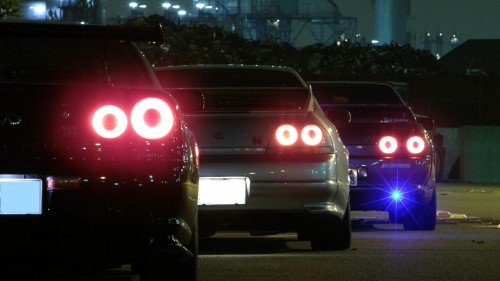 krowmotors:  bestofjapaneseimport:  Nissan R34's  But… you know what… never mind.
