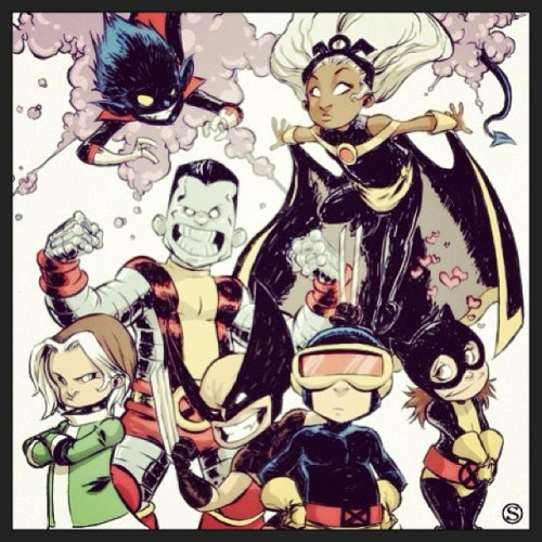 X-Babies by Skottie Young #xbabies #xmen #skottieyoung #art #superheroes #comics #marvel