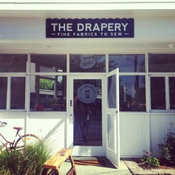 Congratulations to Jane for opening a wonderful shop The Drapery