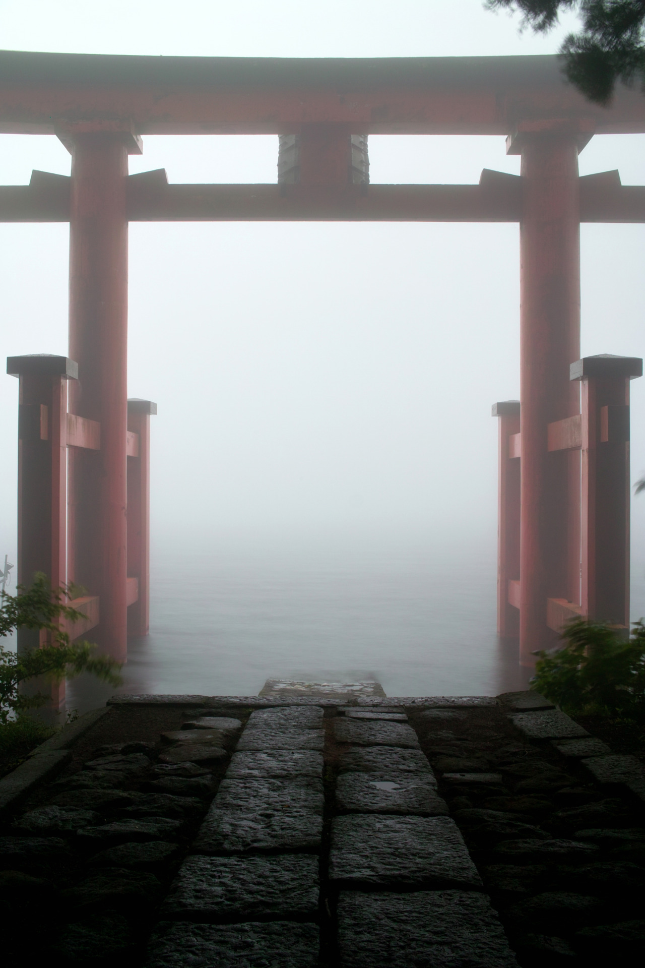 j-p-g:  Hakone shrine #1 (via nipomen2)