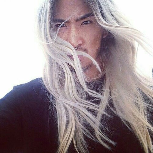 Asian Man With Long Hair Tumblr - Korean hairstyle on tumblr