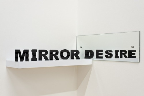 "visual-poetry:  ""mirror my desire"" by james hopkins (+)"