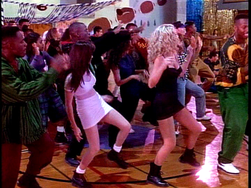 90sfashionflashback:  The 90s taught us that Doc Martens can be worn with everything.