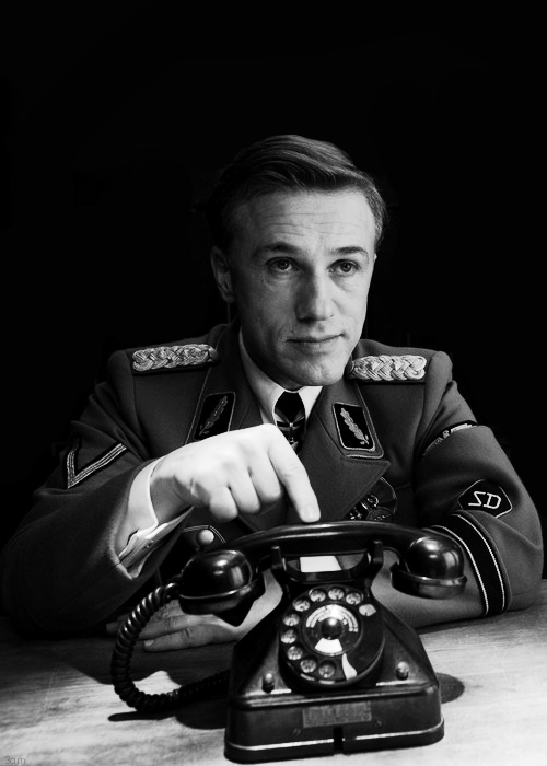Christoph Waltz in Tarantino's Inglorious Bastards (2009)