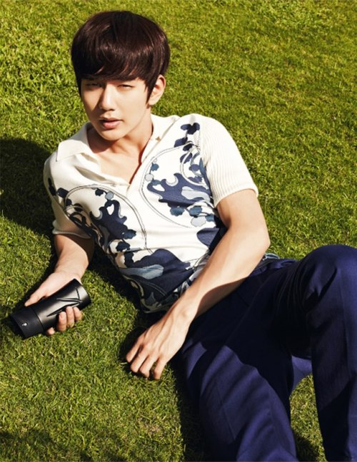 Harper's Bazaar Korea Model: Yoo Seung Ho March 2013