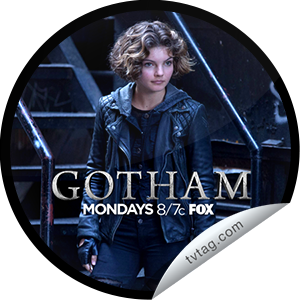 I just unlocked the Gotham: Selina Kyle sticker on tvtag                      5391 others have also unlocked the Gotham: Selina Kyle sticker on tvtag                  Selina Kyle is discovered in a child-trafficking ring.  Share this one proudly. It's from our friends at FOX.