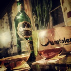 majestictragedy:  #whisky of the day - #glenfiddich #wumbler (hier: Peiro's Paella Palace)