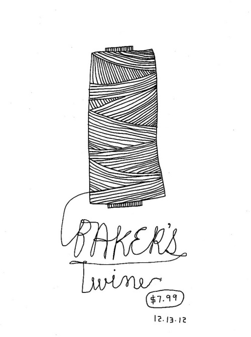 Daily Purchase Drawing for 12.13.12  Green and Yellow Baker's Twine.